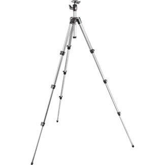 Manfrotto MK394-PQ Foto Stativ-Kit Maxi mit integriertem Kugelkopf und Schnellwechseleinrichtung