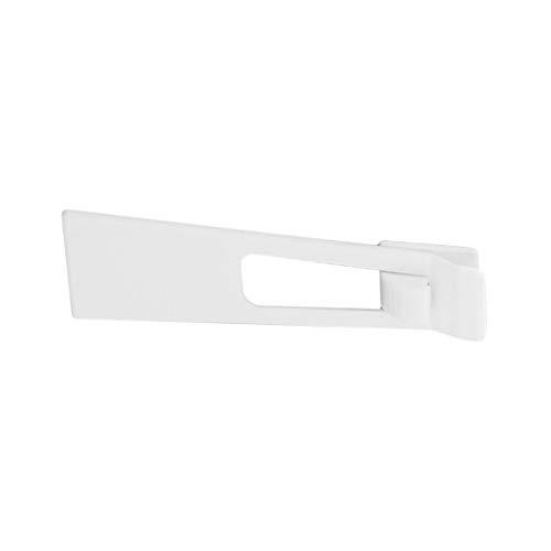 JohnJohnsen Baby-Kind-Sicherheit Schützen Schlösser Kühlschrank Schutz Schrank Kühlschrank-Tür-Fach Startseite Innensicherheitsriegel (weiß)