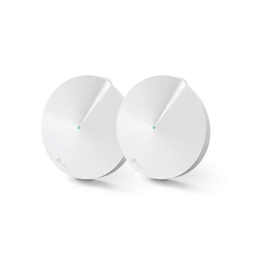 TP-Link Deco P7 Whole Home Wi-Fi Hybrid Mesh with Powerline Backhaul, Up to 4000 sq ft Coverage (Works with Amazon Echo/Alexa and IFTTT, Wi-Fi Booster, Antivirus and Parental Controls) - Pack of 2