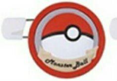 Pokemon Sun & Moon Round Brooch Pin Badge~Pokeball