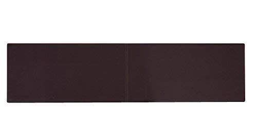 XXL Wandkissen mit Montage-Set 150cm x 30cm passend zu Klemmkissen versch. Farben, Farbe:braun