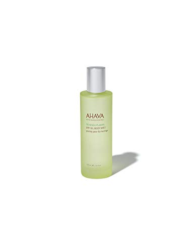AHAVA Dry Oil Body Mist Prickly Pear and Moringa 100 ml Dead Sea Minerals Aromatic and Gentle Fragranced Spray