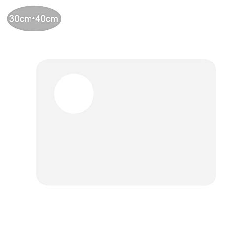 Acryl transparente ovale Palette, Zeichenpalette, Palette, transparente einfache Zeichnungspalette