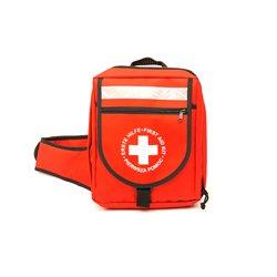 LEINA-WERKE 23010 Erste Hilfe-Notfallrucksack ohne Inhalt, Rot