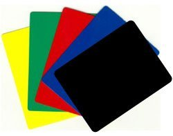 Durable Plastic Poker/blackjack Cut Cards - Set of 5 Different! - Cut Card