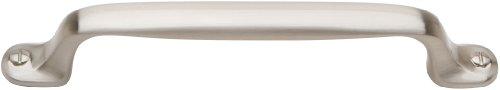 Atlas Homewares a870-bn Ergo Kollektion 6.65-inch Länge Pull, gebürstetes Nickel - Atlas Cabinet Hardware