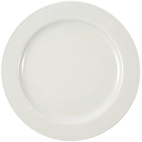 Martín Berasategui Paraíso - Set de 6 platos llanos, 20,2 cm, color blanco