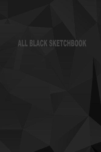 all-black-sketchbook-blank-black-paper-sketchbook-notebook-journal-6-x-9-50-pages