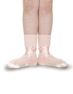 Roch Valley Girls White Ballet Socks all sizes