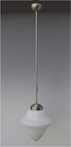 LMS Leuchten Pendelleuchte P 06-8 mit Glas C-33 Art Déco Deckenlampe Hängeleuchte Wohnraumleuchte