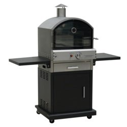 Lifestyle Verona Deluxe Black Garden Pizza Oven