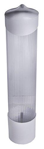 Becherspender (Becherspender mit Wandmontage, für Plastikbecher, Papierbecher und Papierkegel)