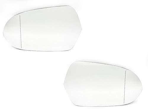 Spiegeglas Miroir Extérieur Droite Chauffé Convexe Opel Meriva A
