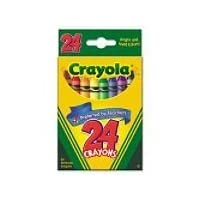 Crayola Classic Color Pack Crayons, Wax, 24 Colors Per Box