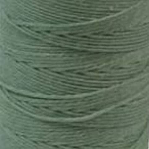 Waxed Irish Linen Crawford Cord 4 Ply 1 Spool SAGE 420021 by Crawford Threads