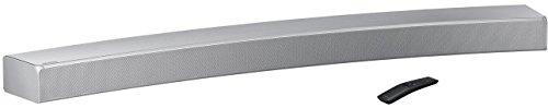 Samsung curved soundbar (integrated subwoofer, Bluetooth, surround sound expansion)