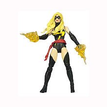 4 Inch Series 3 Action Figure #22 Ms. Marvel Black Outfit (Marvel Outfit)