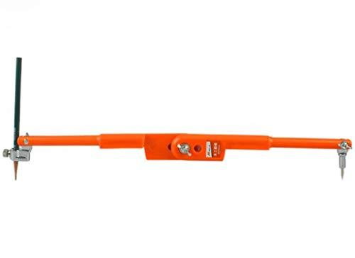 Bussole per la lavorazione del legno, acciaio inox professionale scriba manometri decorazione lunghezza disegno separatore 40 * 150cm