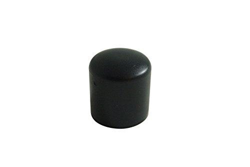 GLEITGUT 24 x Fußkappen Rohrkappen Stuhlkappen Ø 28 mm - Endkappen für Rundrohre
