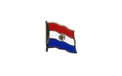 Flaggen-Pin / Anstecker Paraguay vergoldet