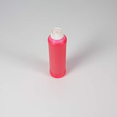 showking UV-aktive Stempelfarbe, transparent, rot, 250ml - UV-Farbe -