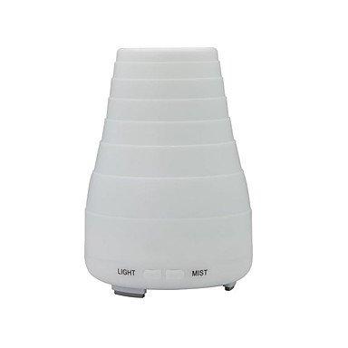 Elektrische Aroma Diffusor Home Use Bunte Ultraschall Luftbefeuchter Maschine Mini LED Licht , white