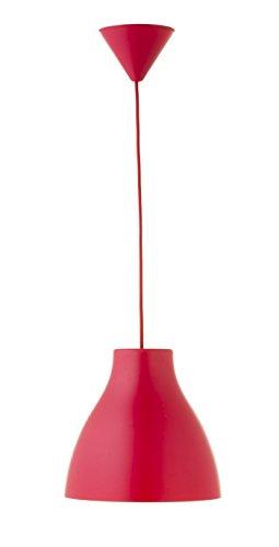 Els Banys Pop  - Colgante de techo PVC  con cable de color a juego, color rojo