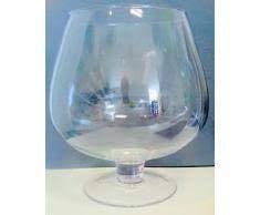 Cognacschwenker XXXL grosses Dekoglas Vase Klar glas Riesen Schwenker KEIN BOWLE GLAS ! Höhe ca. 21 cm Inhalt 2,9 Öffnung oben ca 12 cm, Liter Oberstdorfer Glashütte