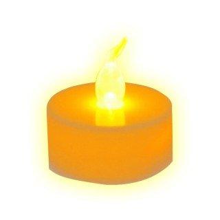 E8Q 60x LED luz de té sin llama luces eléctricas de velas de la boda de decoración festiva