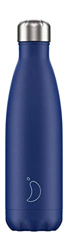 Chilly's Bottles   New2019Logo   Leak-Proof, No Sweating   BPA-Free Stainless Steel   Reusable Water Bottle   Double Walled Vacuum Insulated   Keeps Cold for 24+ Hrs, Hot for 12 Hrs