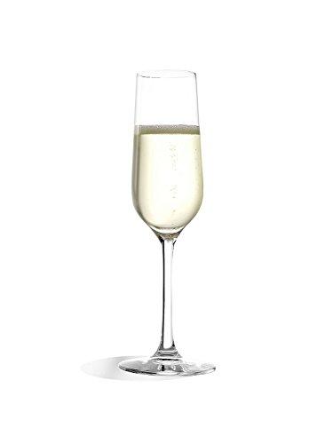 Stölzle Lausitz Sektgläser Revolution, 200ml, 6er Set Sektkelche, hoch funktionelle Champagnergläser, hochwertige Qualität, spülmaschinenfest