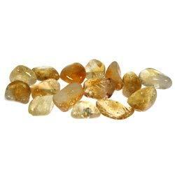 Extra pietra di quarzo citrino e asciugatrice (15-20 mm)