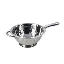 Stainless steel collection Stainless Steel Colander, Stell, Silver, 23cm by Pendeford