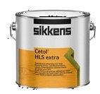 Sikkens Cetol Hls Extra Rm - Speciale Vernice Alchidica Per Esterni, Colori E Dimensioni Assortiti 1 Litro Trasparente