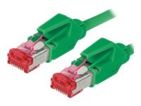 Tecline 71805G Category 6A Ethernet Patchkabel (S/FTP, PiMF, EIA/TIA, Class EA, 5 m) grün -