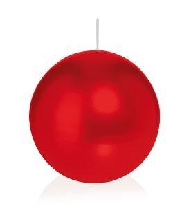 Bougie ronde 6 Ø 80 mm Rouge, Brûler temps en heures 25, Bougies pour l'événement, partie, occasion, baptême, mariage, Avent, Noël, décoration