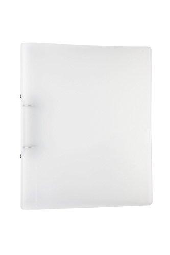 Idena 224335 - Ringbuch DIN A4, 2 Ringe, 35 mm Rückenbreite, transparent