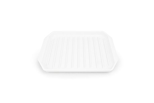 Fox Run 6574 Microwave Bacon Rack/Cooker 9.8 inches White Plastic