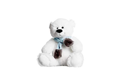 Bärchenmacher Teddy Egon Eisbär, 40 cm - waschbar, zum selber befüllen