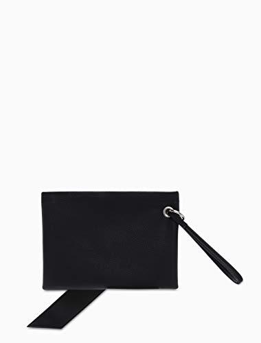 Calvin Klein Women's Logo Banner Medium Pouch - Bright White -