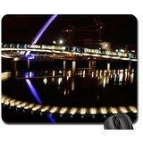 Millennium Bridge, Gateshead Mouse Pad, Mousepad (Bridges Mouse Pad)