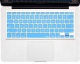 Kuzy - Himmelblau Tastaturschutz aus Silikon für MacBook Pro 33,02 cm 38,1 cm 43,18 cm (mit oder ohne Retina Display) iMac und MacBook Air 33,02 cm (USA Tastatur Version) - - himmelblau