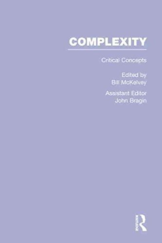 [Complexity: Critical Concepts] (By: Bill McKelvey) [published: November, 2012]