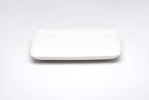 Red Vanilla Everytime White Soßenschale, Weiß, weiß, 10.5 by 10.25 inch Dinner Plate Denby White Dinner Plate