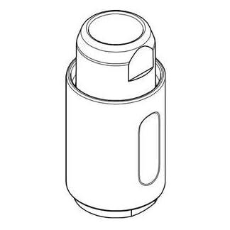 Grohe alcachofa extraíble profesional para fregadero Minta boca Ref. 46925000