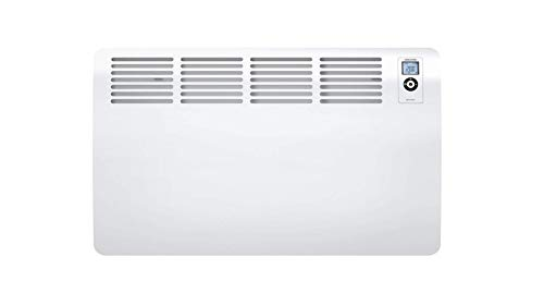 STIEBEL ELTRON elektronisch geregelter Wandkonvektor CON 20 Premium, 2 kW, für ca. 20 m², LC-Display, Wochentimer, Offene-Fenster-Erkennung, 120 min. Kurztimer, 237833