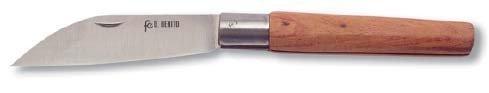 Flores Cortés – Couteau Coupe Droite 120 mm en Acier Inoxydable.