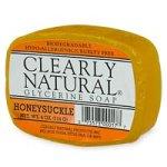 Esencial, puro y natural jabón de glicerina, madreselva -...