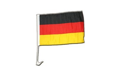 Flaggenfritze Autofahne Autoflagge Deutschland - 30 x 40 cm