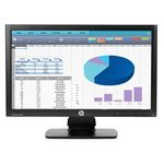 HP ProDisplay P202 20-Inch LED Monitor - Black (1600 x 900, 250 cd/m2, 1000:1, 5 ms, VGA, DisplayPort)